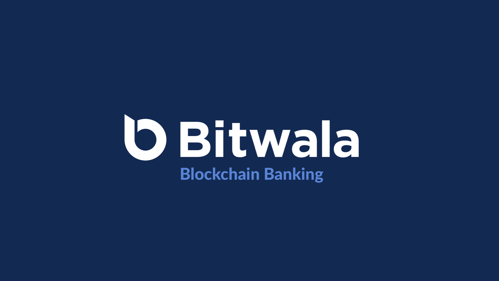 Bitwala Blockchain Bank - Campus Presentation