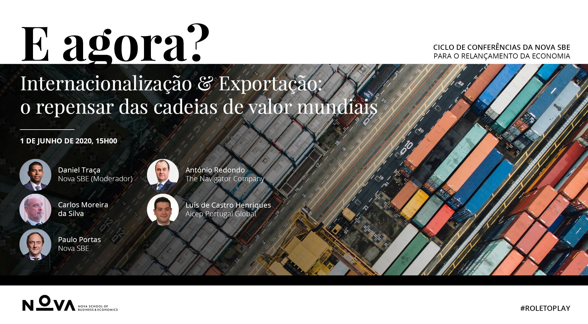 "E agora? (What now?): ""Internationalization & Export: rethinking global value chains"""