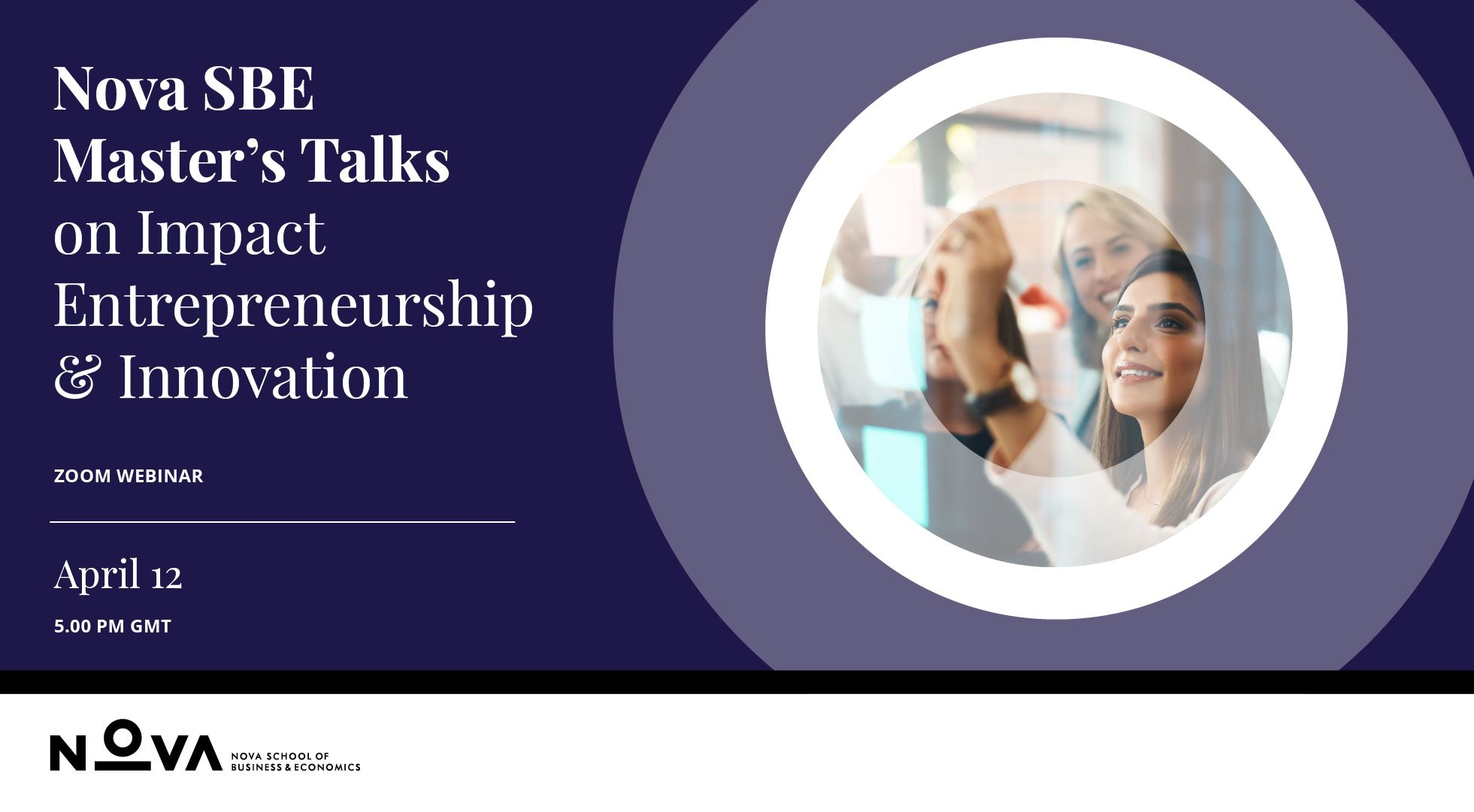 Master's Talks on Master's in Impact Entrepreneurship & Innovation
