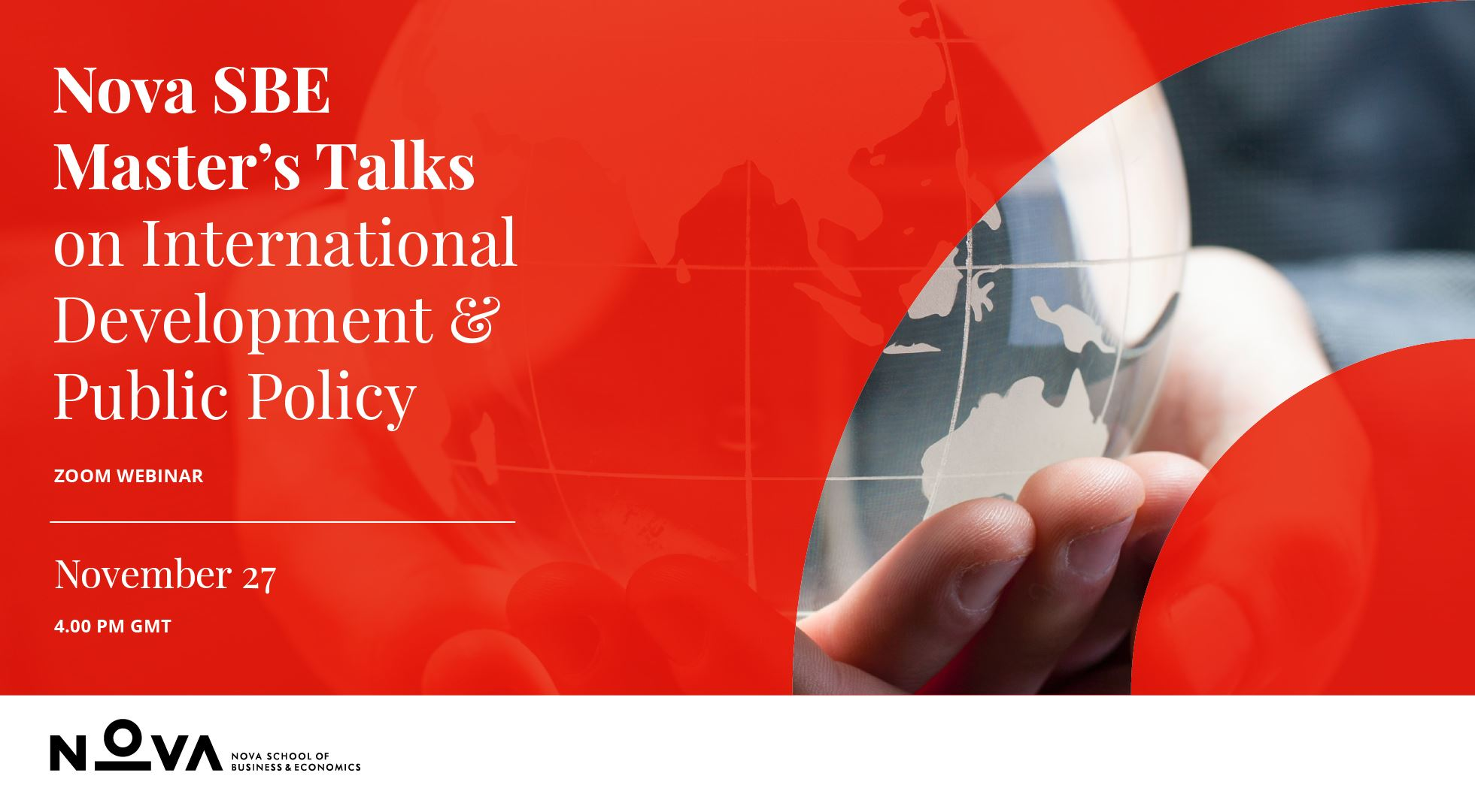 Master's Talks on International Development and Public Policy
