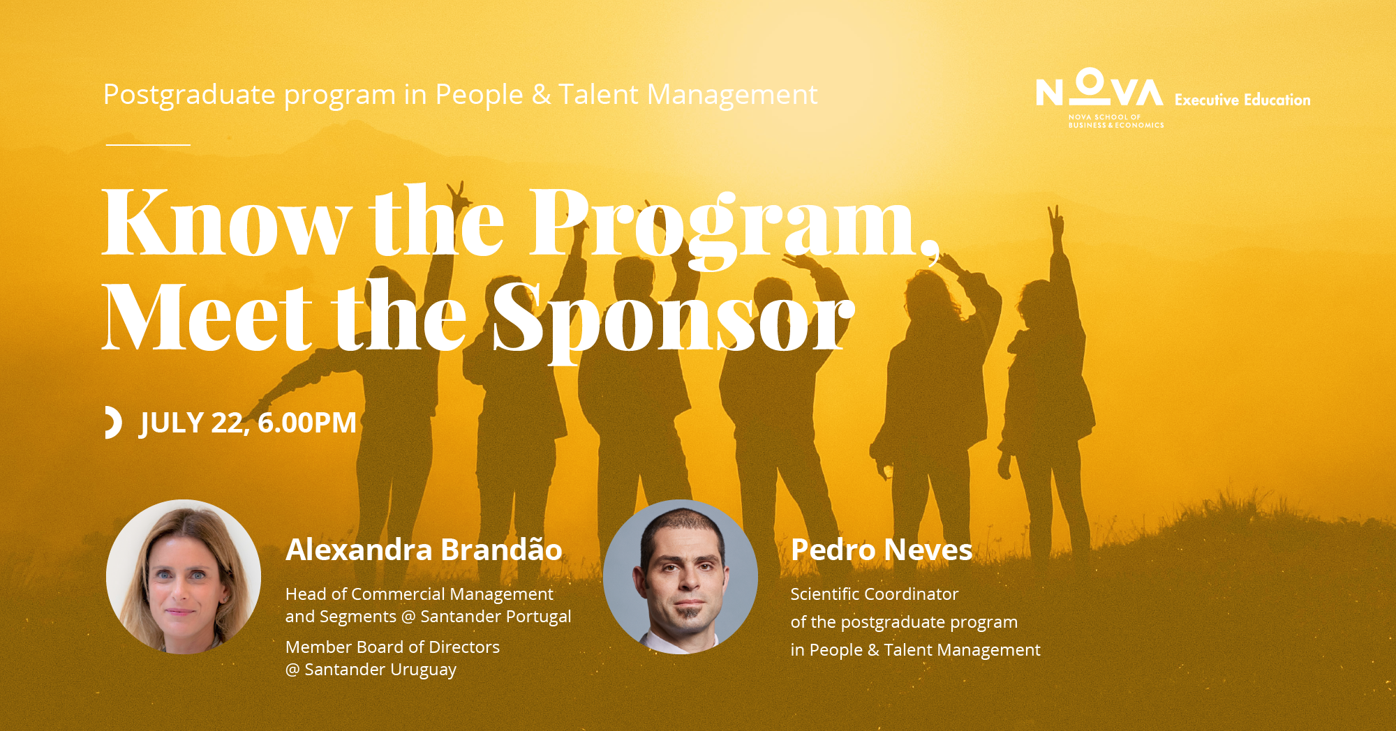Know the Program, Meet the Sponsor: Alexandra Brandão