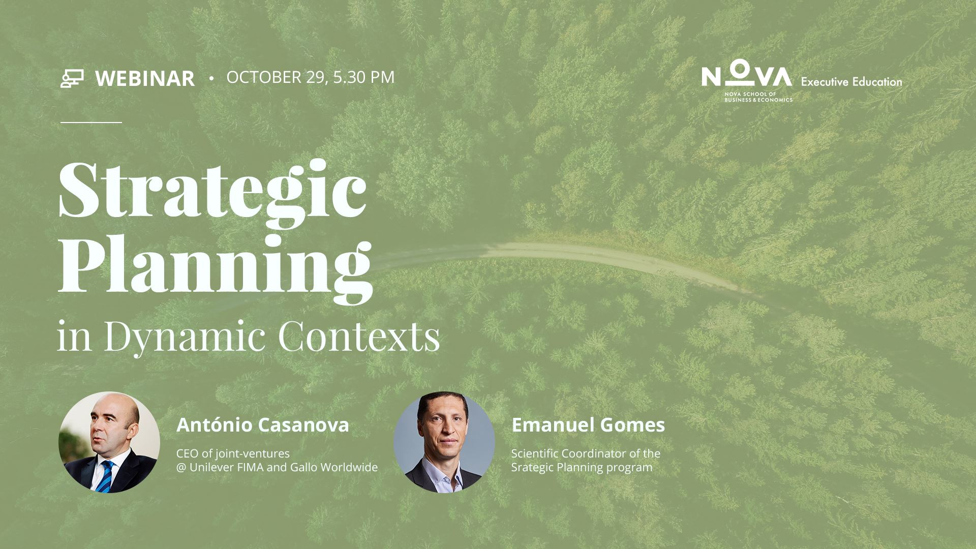 Strategic Planning in Dynamic Contexts