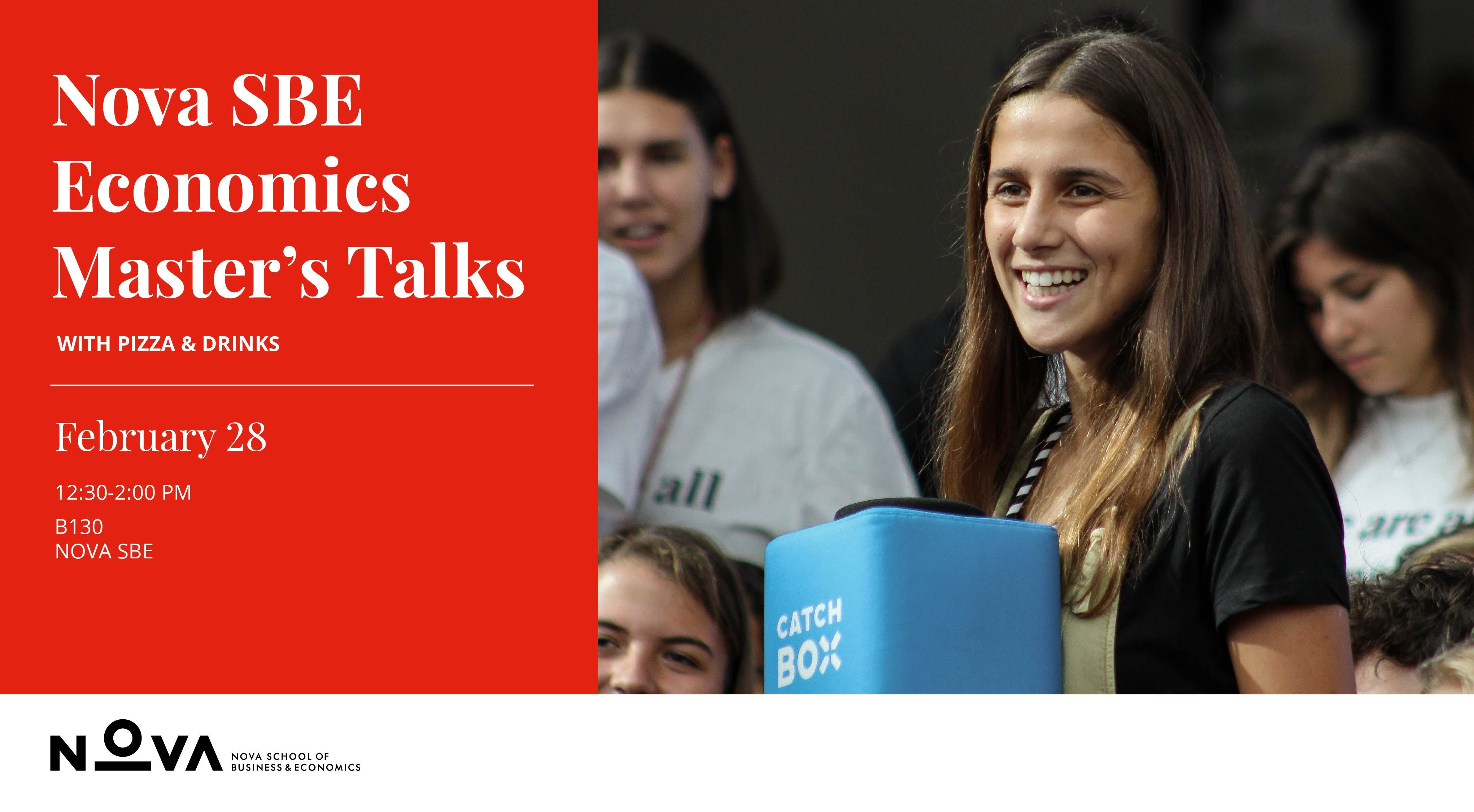 Economics Master's Talks