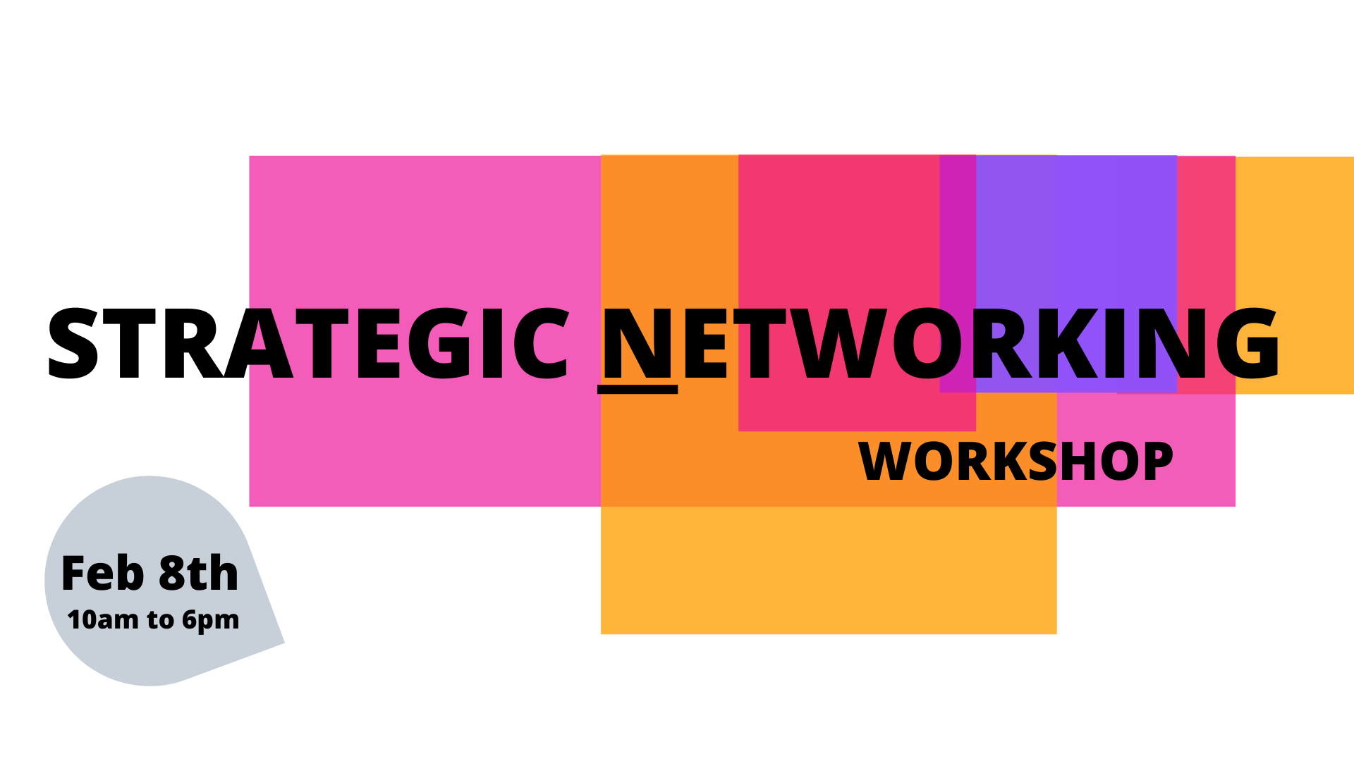 Strategic Networking Workshop
