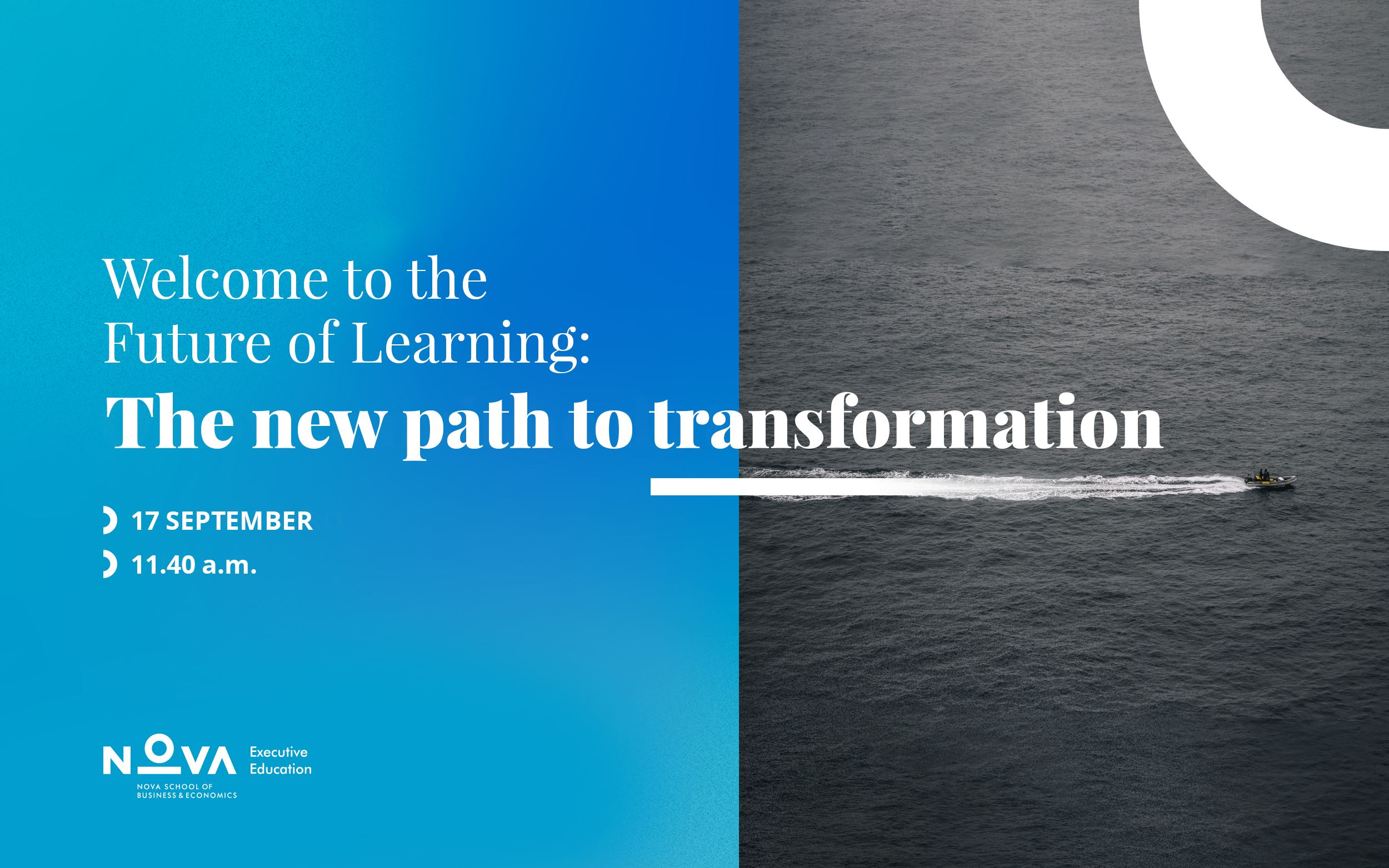 Welcome to the Future of Learning: the new path to transformation