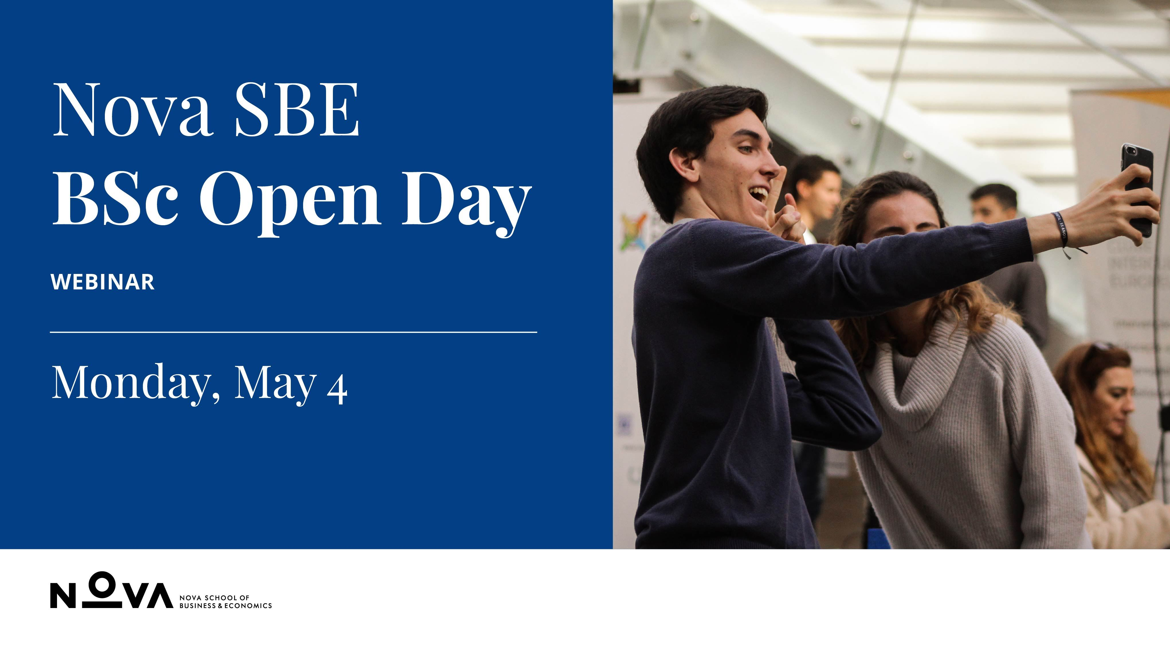 Nova SBE Bachelor's Open Day Webinar