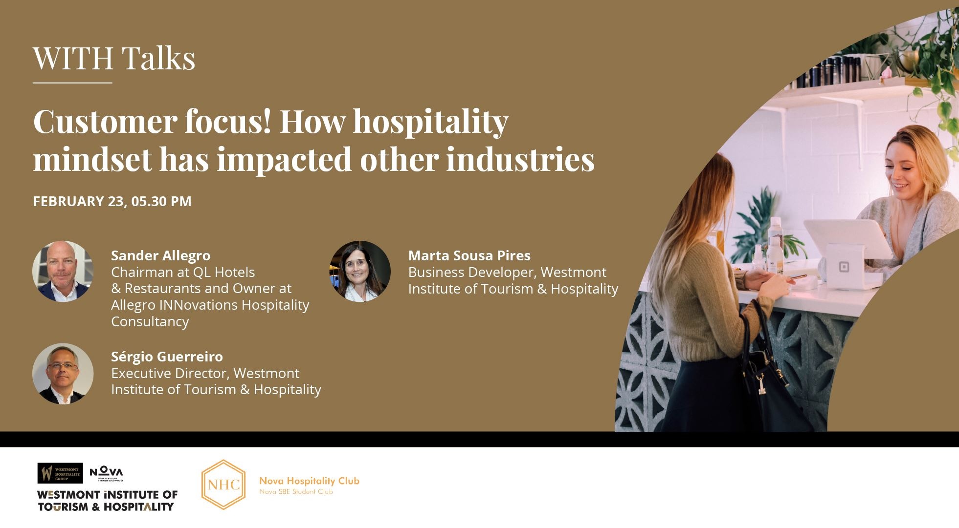 Customer focus! How hospitality mindset has impacted other industries' with Sander Allegro