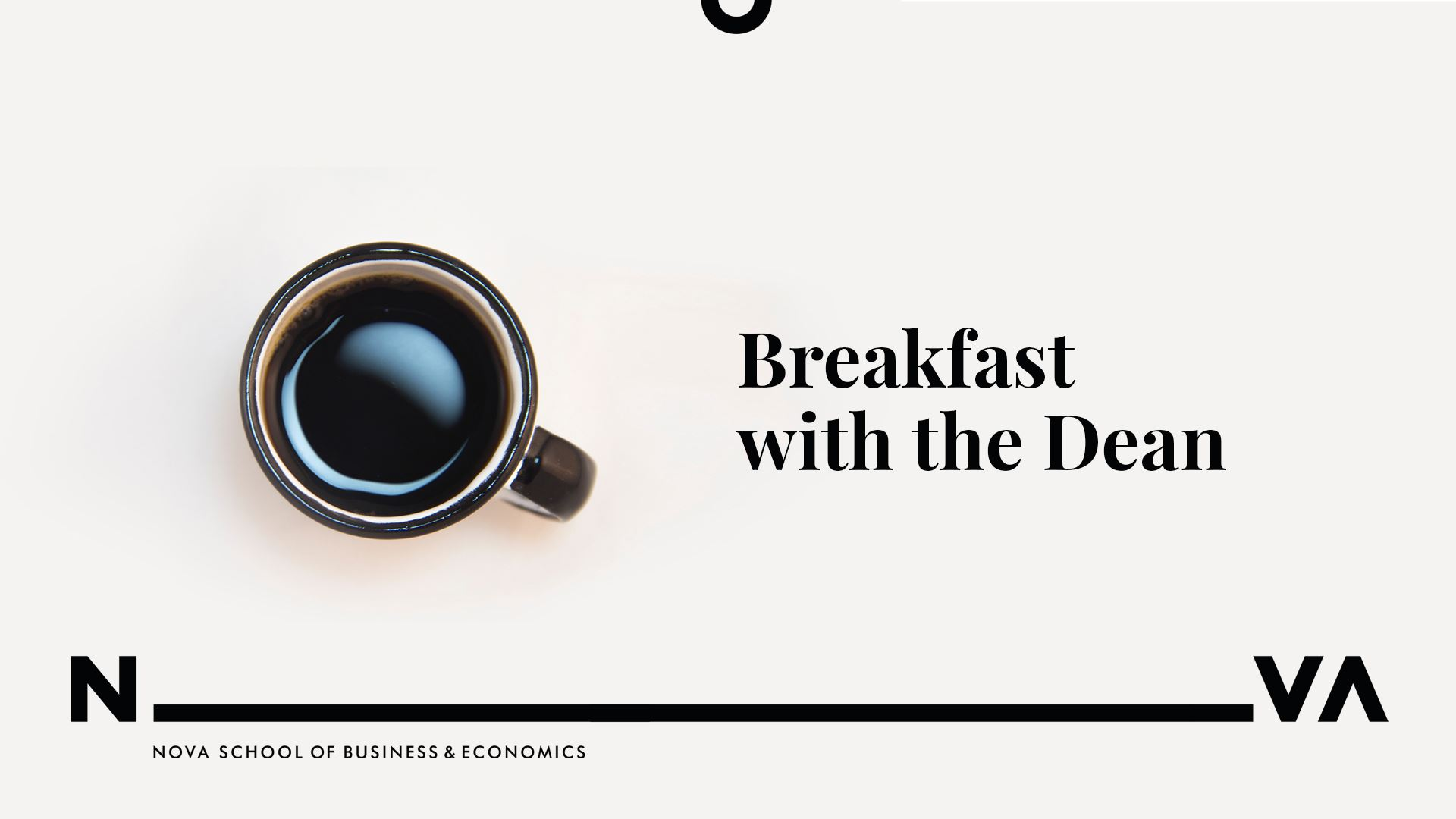 Breakfast with the Dean