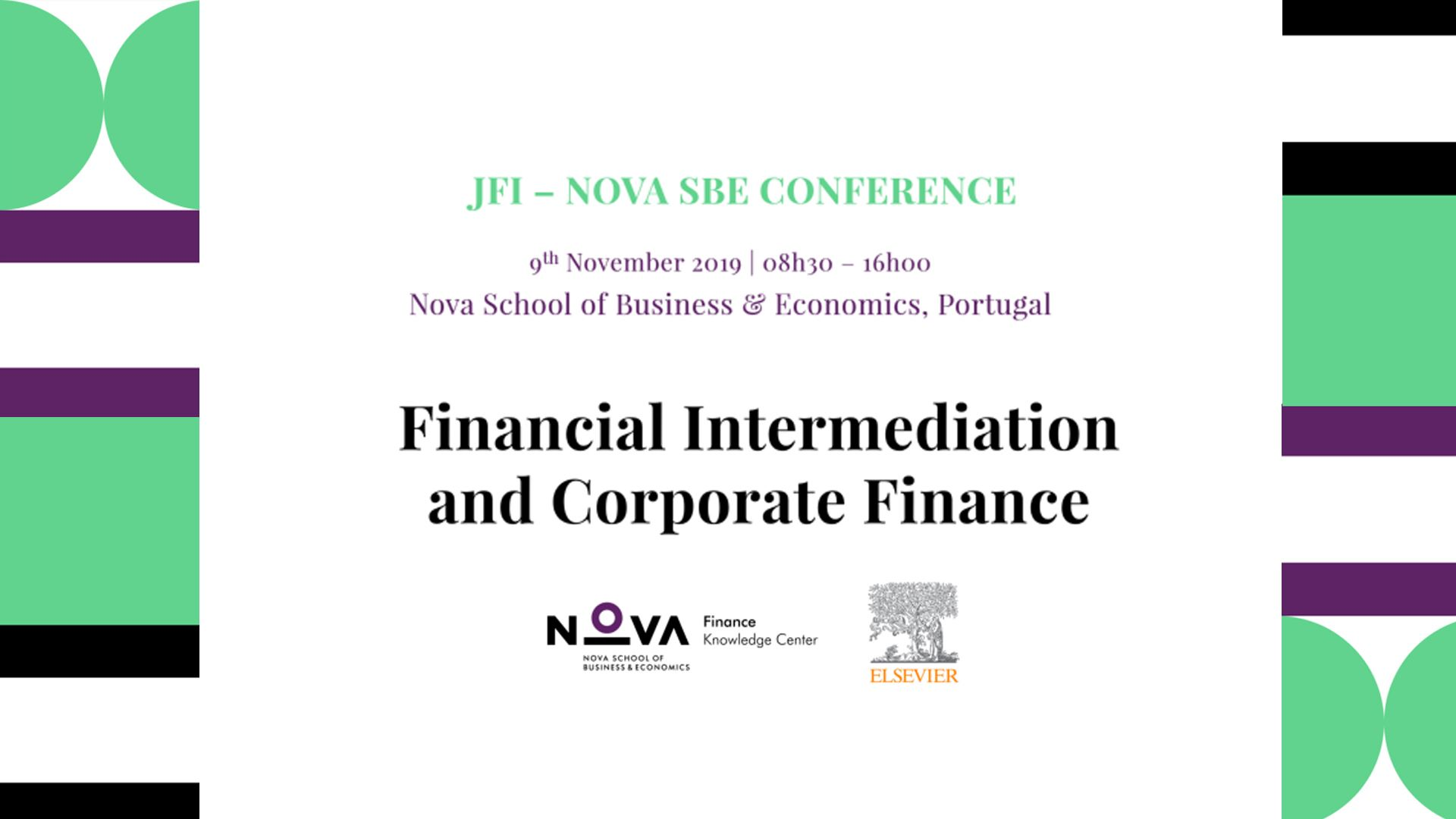 JFI-Nova SBE Conference on Financial Intermediation and Corporate Finance