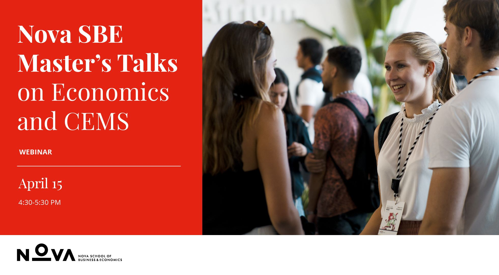 Webinar: Master's Talks on Economics and CEMS