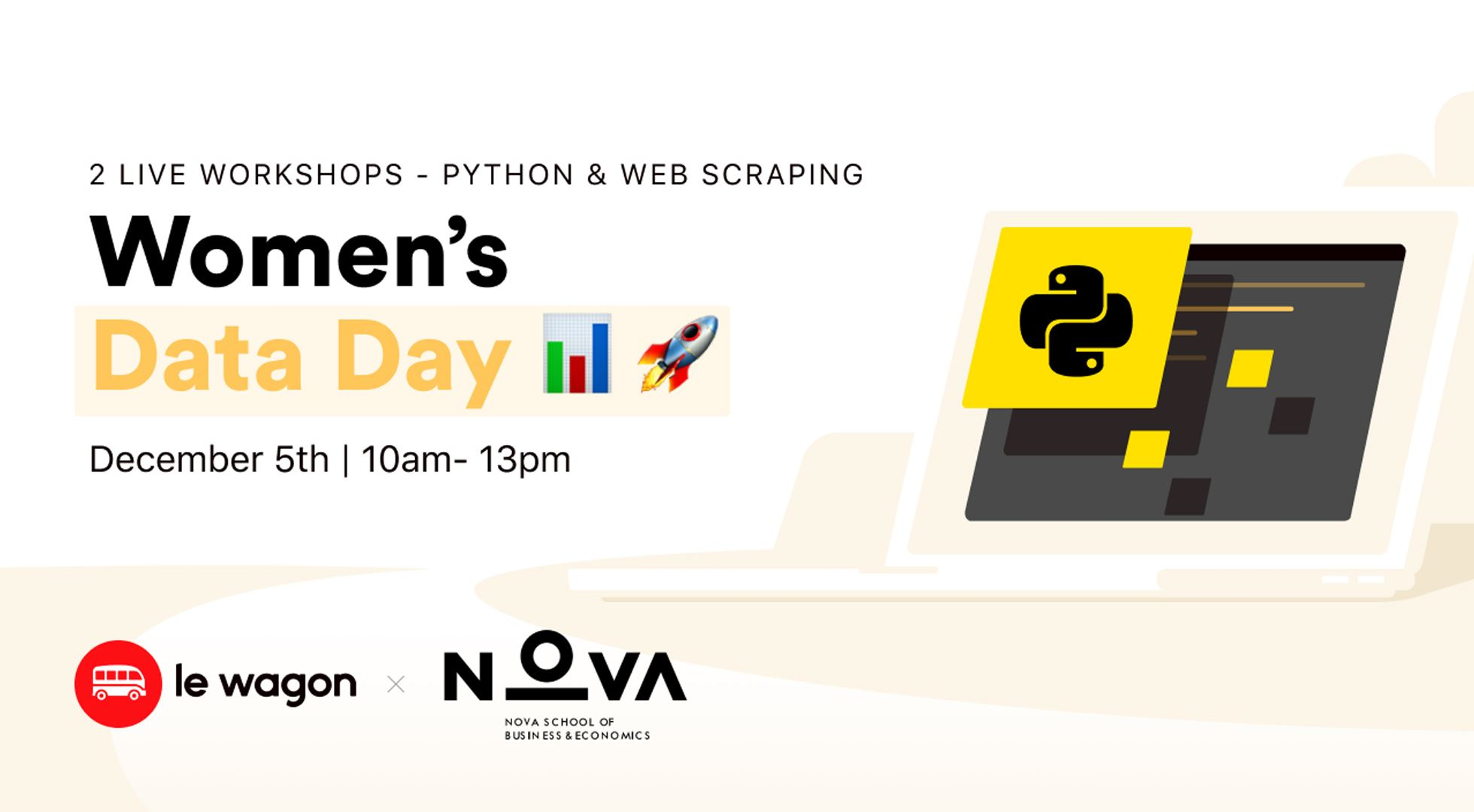 Women's Data Day - Data Analytics & Web Scraping