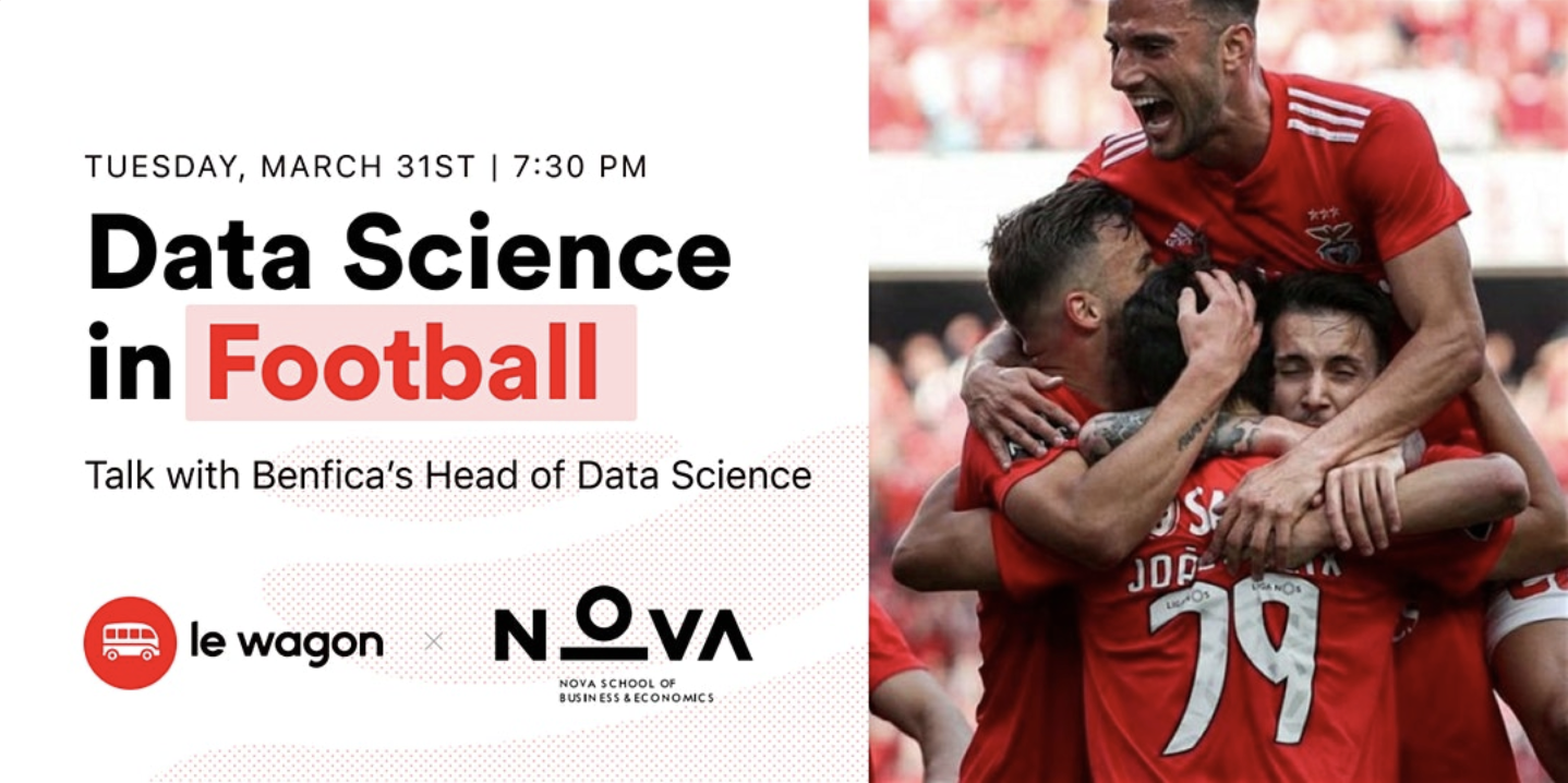 "Data Science in Football"" - a talk with Sport Lisboa e Benfica Head of Data Science, Sudarshan ""Suds"" Gopaladesikan"