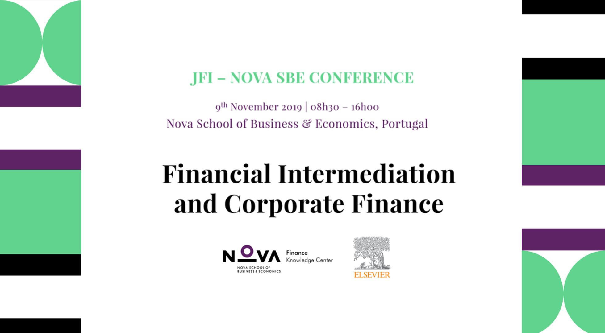 2019 JFI-Nova SBE Conference on Financial Intermediation and Corporate Finance