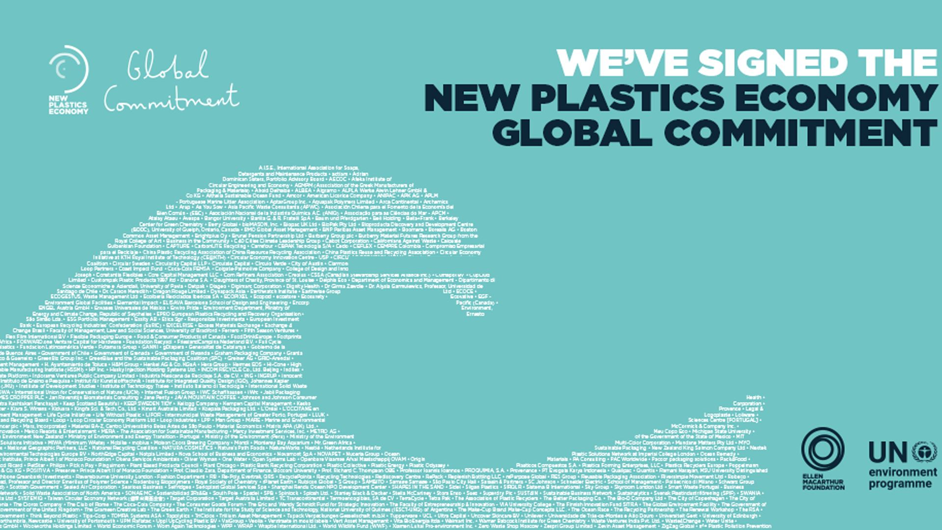 New Global Commitment Report reveals progress towards eliminating plastic pollution