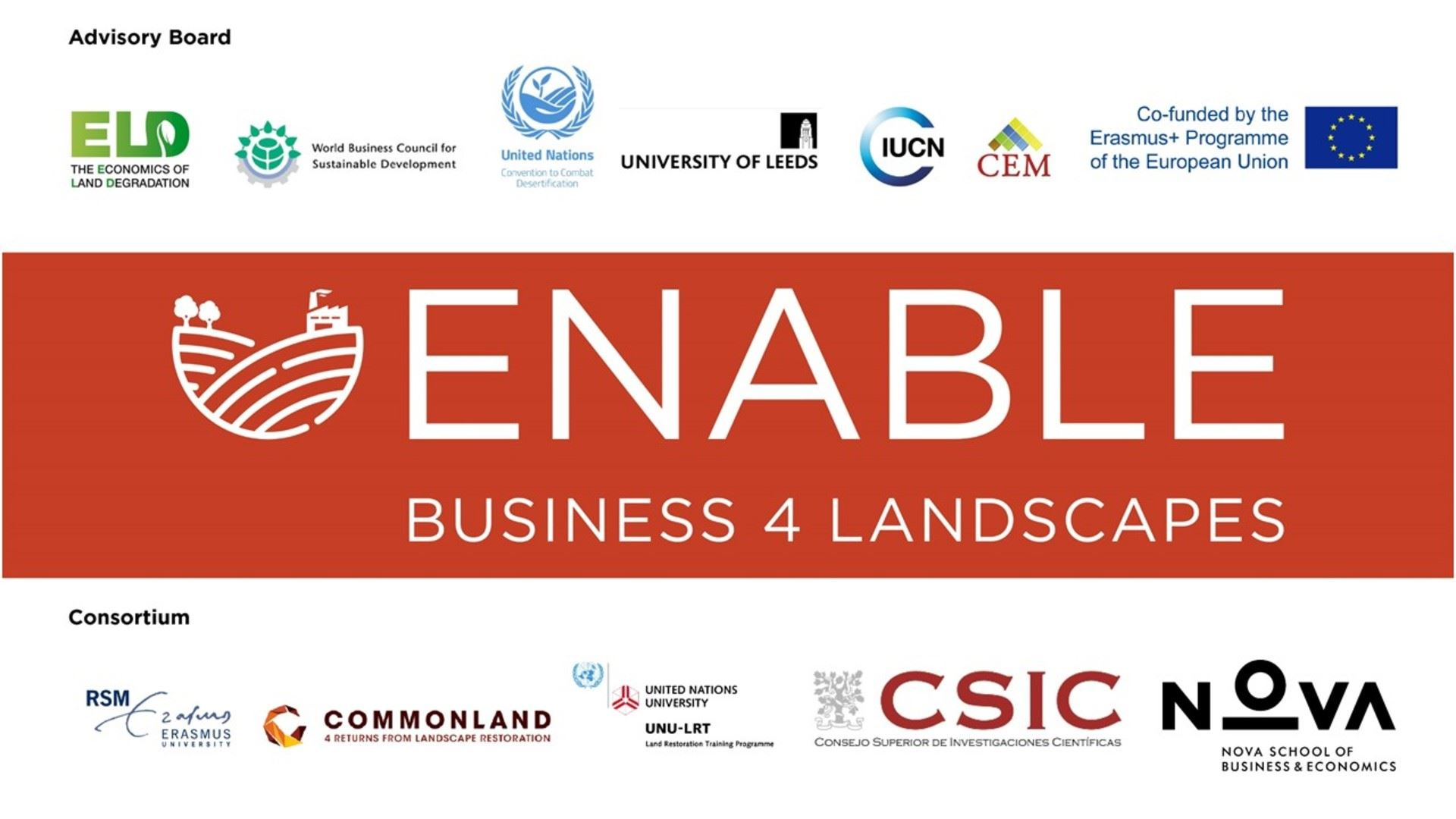 ENABLE Conference: Engaging Businesses and Society in Landscape Restoration