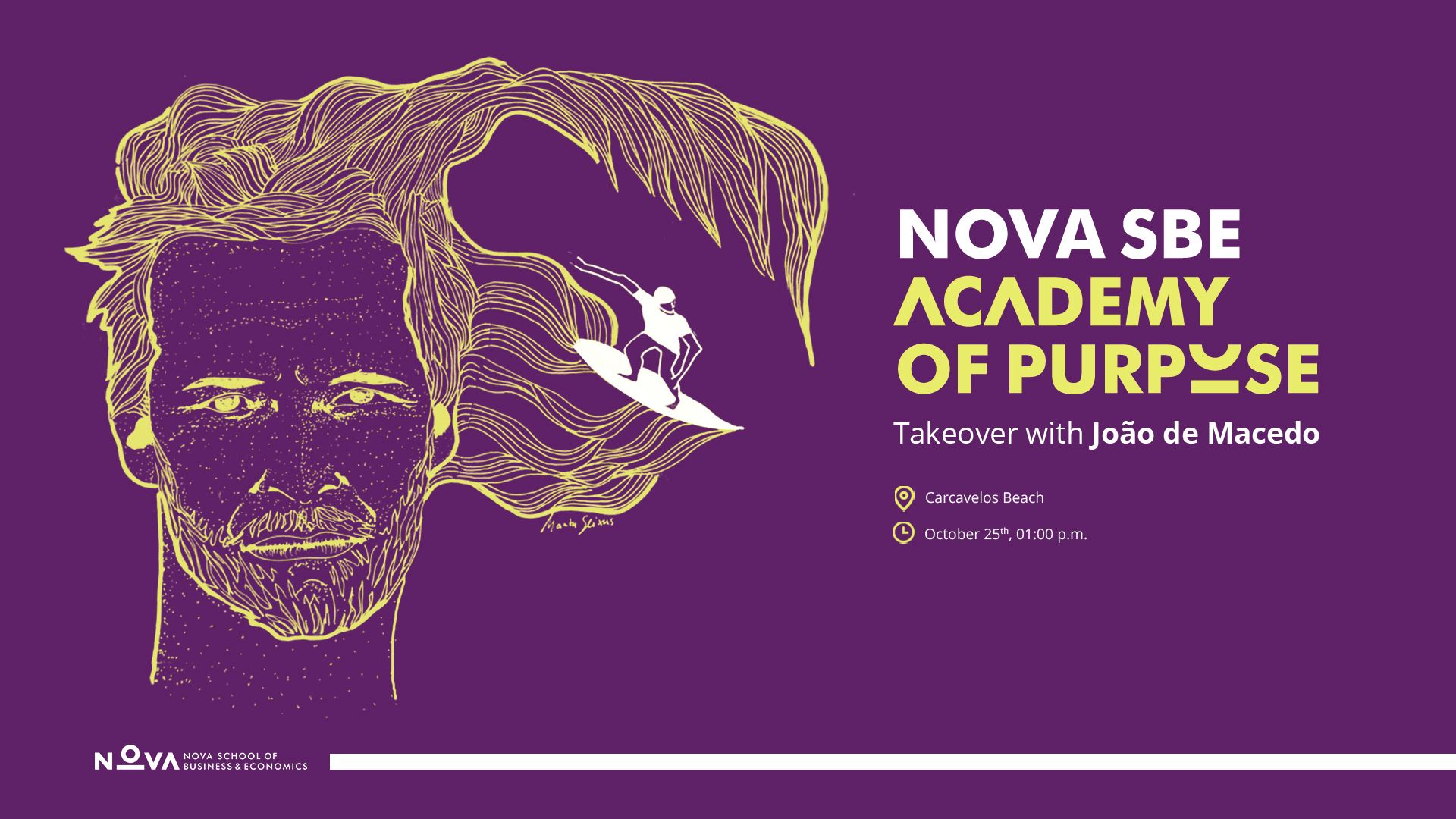 Academy of Purpose - 3rd Takeover with João de Macedo
