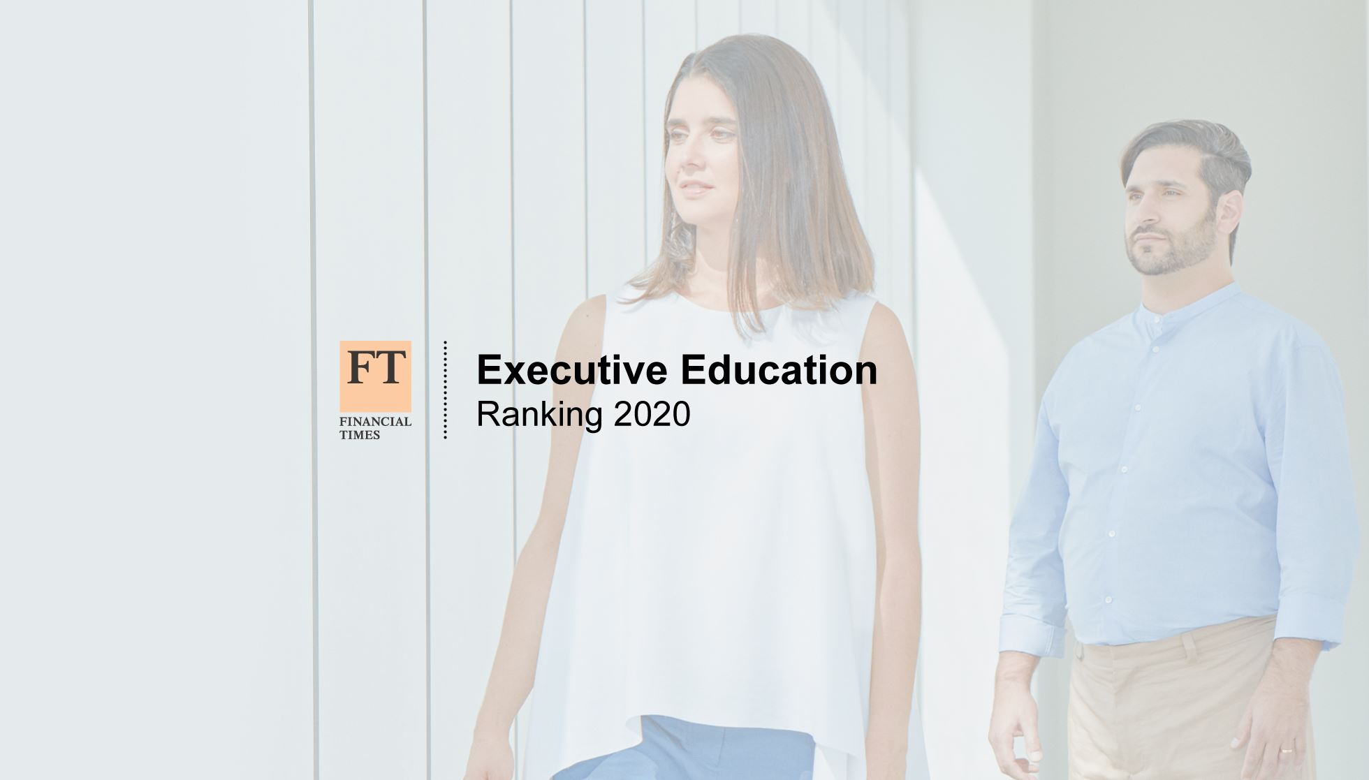 Nova SBE Executive Education Is No. 1 in Portugal in the 2020 Financial Times Ranking
