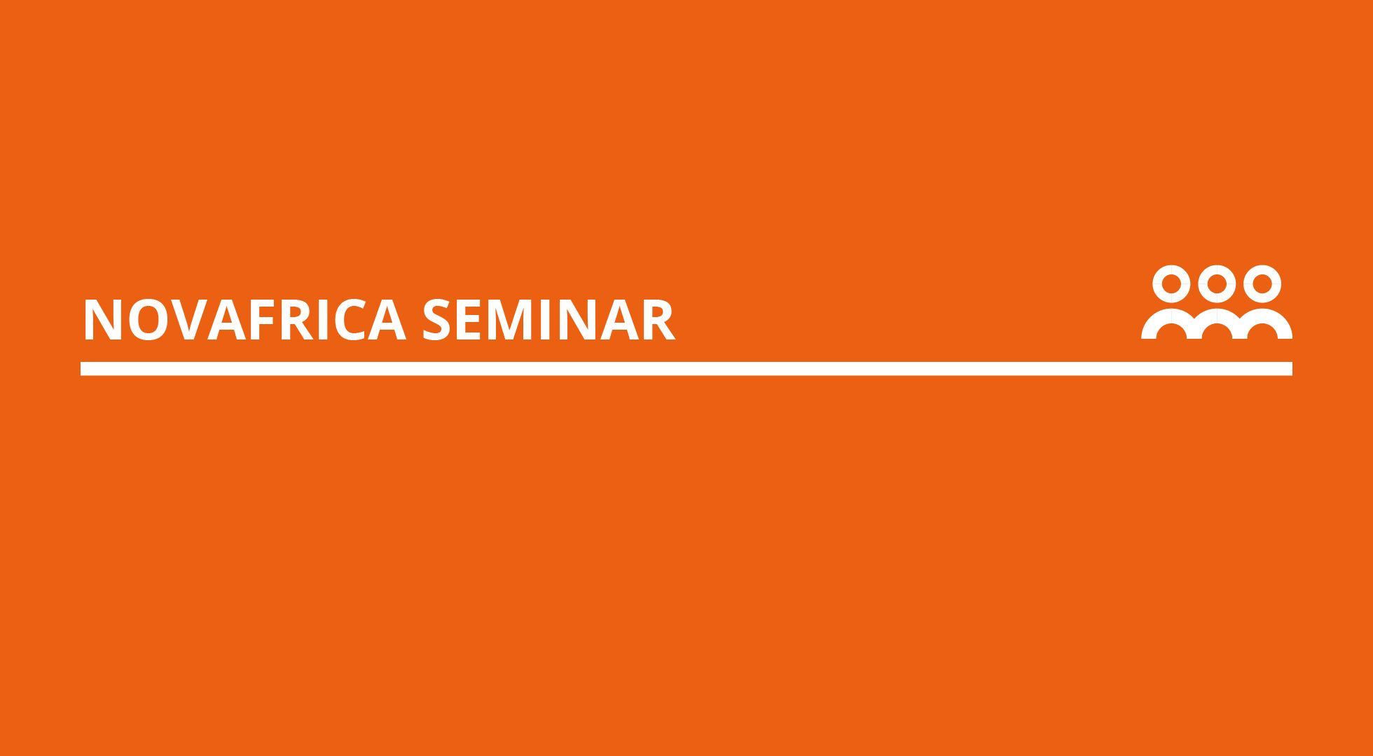 NOVAFRICA Seminars